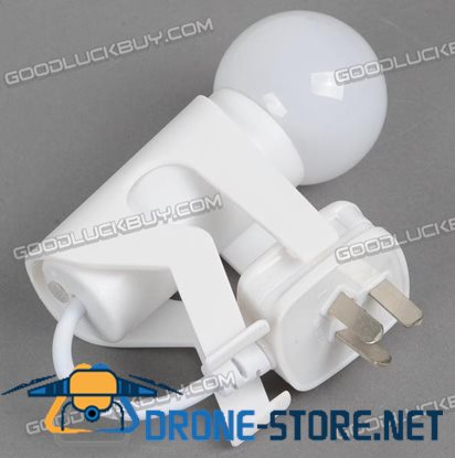 Doulex Automatic Light Sensor LED Night Light Lamp White