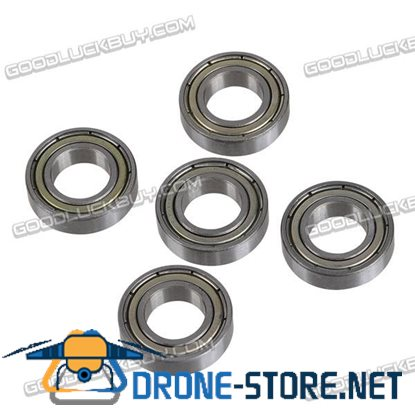 10*19*5mm Micro Ball Bearing 6800 for RC Model Motor Toys 5-Pack
