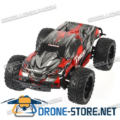 1:10 2.4G High Speed Electric Four-Wheel 4WD Remote Control RC Racing Car Truck Toy
