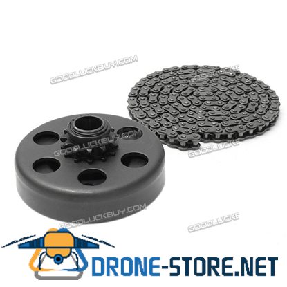 "3/4"" Bore Centrifugal Clutch 12 Tooth +35 Chain Screw Sets for Minibike Go Kart"