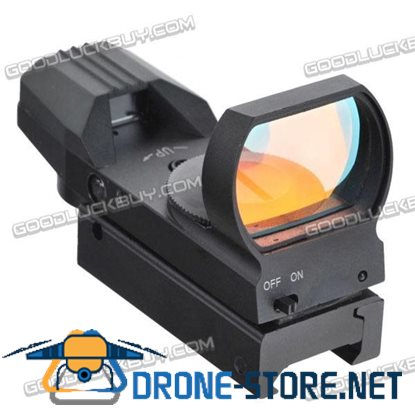LT-HDR35A Light-Sensor-Control Tactical Telescopic Illuminated Red and Green Dot Gun Sight Narrow Guage