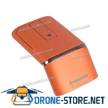 Dual Mode Lenovo N700 Bluetooth 4.0 2.4G Wireless Touch Mouse Laser Pointer Orange