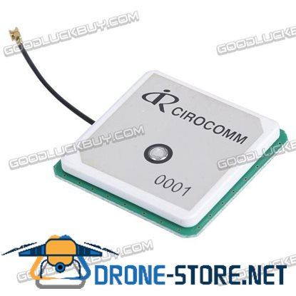 32db High Gain RCIROCOMM GPS Active Built-in Ceramic Patch Antenna 38*38*6mm