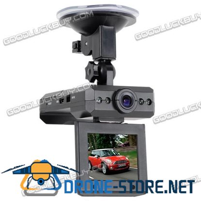 """2.5"""" LCD Night Vision Vehicle Car Wireless Security Camera DVR 360-dgr Rotation"""