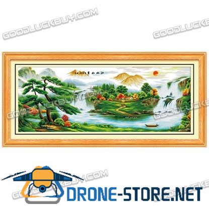 255cmx104cm Cross-Stitch Embroidery Kit for Living Room Decoration