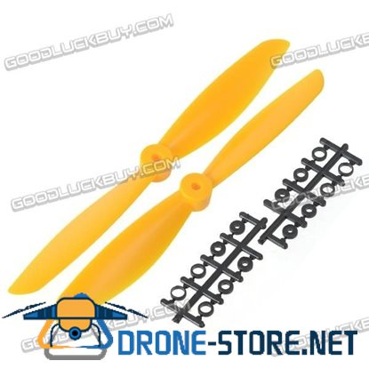 "10x4.7"" 1047 1047R Counter Rotating Propeller Blade For Quadcopter MultiCoptor-Yellow"