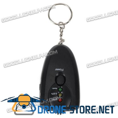 6360 Mini Keychain Alcohol Tester with Flashlight for Drive Safty