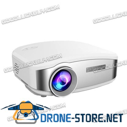 1200 lumen Mini Portable LED 3D Projector 1080P Multimedia Home Theater No DVB-T