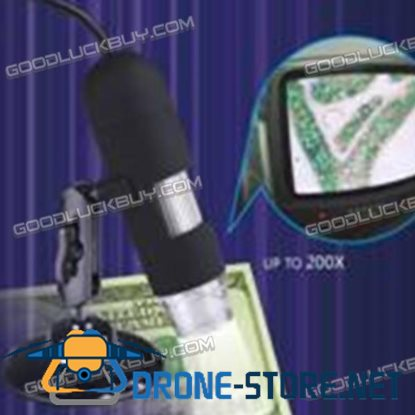 1200X AV1200 USB Digital Microscope for Measurement & Calibration with Simple Support
