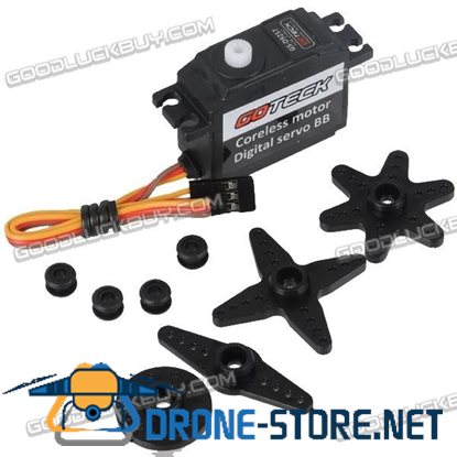 Gotech D9257 Digital Rudder Servo High Speed High Torque Digital Servo