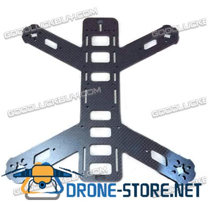 1.5mm 3K Carbon Fiber Lower Center Board for DIY FPV Model Multicopter