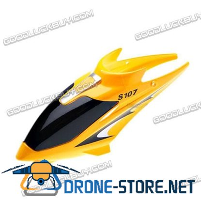 S107-Z-01 Canopy for Syma S107 Toy Helicopter Yellow