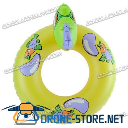 Animal Inflatable Swim Ring Inflate Swimming Tube Pool Floats 25""