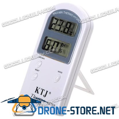 Indoor LCD Digital Thermometer with Hygrometer TA138B