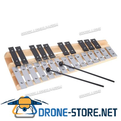 25 Note Glockenspiel Xylophone Educational Musical Instrument Percussion