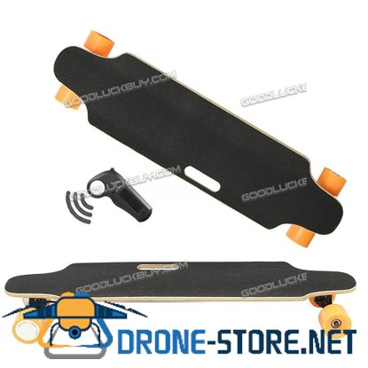 500W 2500R Wireless Electric Skateboard Longboard Skate w/ Remote Control Gift