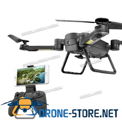 Q9W RTF Drone RC Quadcopter Wifi HD Camera 2 Mode Transmitter Black