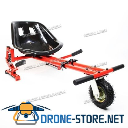 Hoverkart Hovercart Shock Absorber & Pneumatic Tyre for Off-Road Go Kart Red