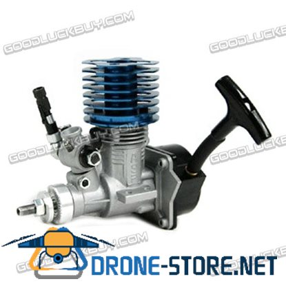 ASP 15CX-H Engine with Pull Starter Muffler for Cars - Blue Head