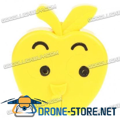 Apple Style USB Rechargeable Pin-Hole Spy Camera Camcorder Yellow