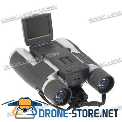 "2"" Screen 12X32 Digital Telescope Binoculars with Built-in HD 1080P Video DVR Camera"