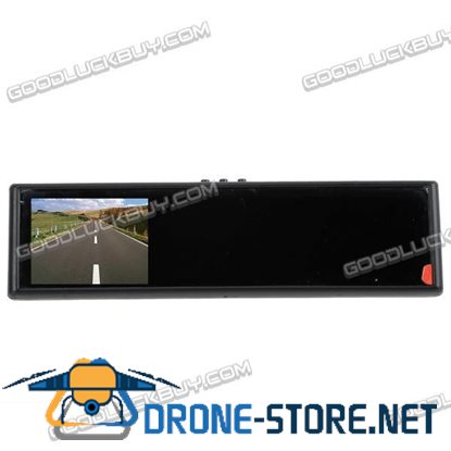"""3.8"""" TFT LCD Car Rear View Rearview Mirror DVD Monitor"""