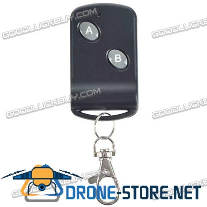 2 Keys Home Appliance Remote Control with Keychain 2 Channel