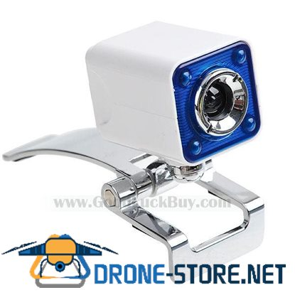 Driverless USB Webcam Web Digital Camera with Clip for PC Laptop
