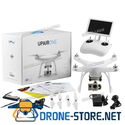 UPair One 2.7K 1080p HD Camera +5.8G FPV + Gimbal RC GPS Quadcopter Drone UP Air