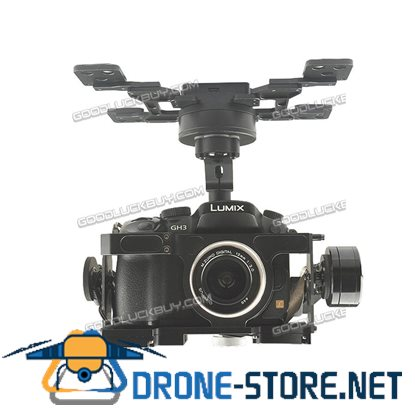 HG3D+Three Axis Brushless Gimbal 360 Degree Rotation HDMI-AV for GH3/4/5 Quadcopter