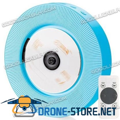 IFE Blue Minimal Wall Hanging Mount CD Player Remote Control