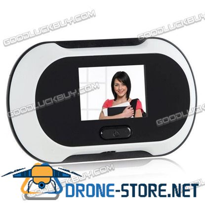 "2.5"" LCD Digital Door Peephole Viewer Security Camera Cam"