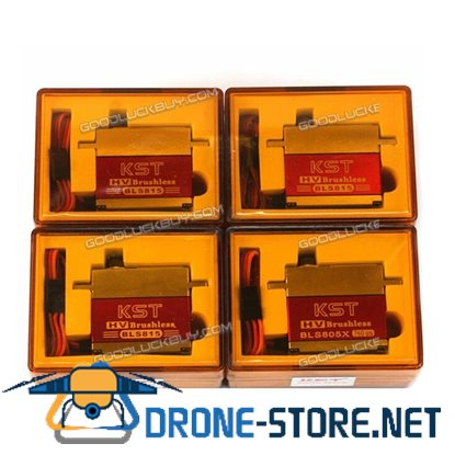 3 X KST BLS815 + 1 X KST BLS805 Tail & Swash Servos For 450-700 RC Helicopter