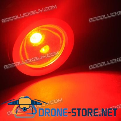 10W Underwater Waterproof LED Flood Flat Light Lamp Safe 12V Outdoor-Red