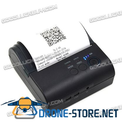 POS-8001 Wifi Portable Mini Wireless 80mm Thermal Printer 2000mA for Windows Smartphone