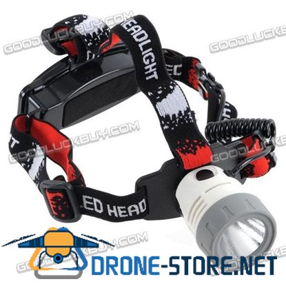 CREE 3-Mode LED 3W Flashlight HeadLight Zoom Headlamp 160LM