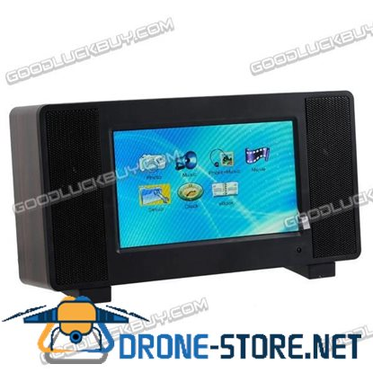 7 inch TFT LCD Digital Photo Frame with MP3 MP4 Player Clock Alarm