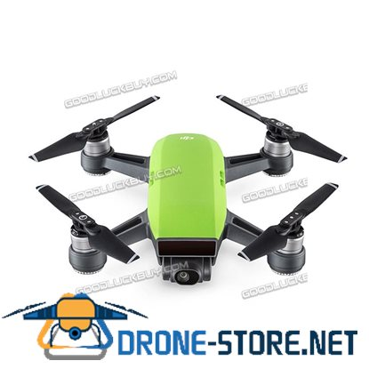 DJI Spark Alpine Quadcopter Drone 12MP 1080P Video Fly Combo Green