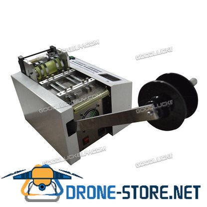 YS-100 Auto Heat-shrink Tube Cable Pipe Cutting Machine 110V 200-500W