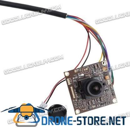 "1/3"" Sony 960H HAD 700TVL High Resolution HD FPV 3.6mm Camera Support Night Version"