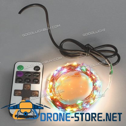 10M 5V USB Decorative LED Copper Wire String Light Strip Lamp Waterproof for Wedding party RGB