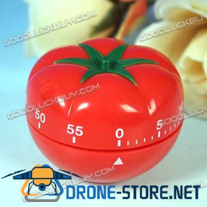 60 Minutes Kitchen Cooking Time Count Timer Tomato Shape