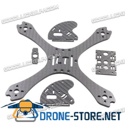 """LANTIAN LT190 190mm 5"""" FPV Carbon Fiber Racing Frame RC Drone with Motor Protector"""