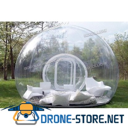 LUXURY Outdoor 2M Single Tunnel Inflatable Bubble Tent Family Camping Backyard