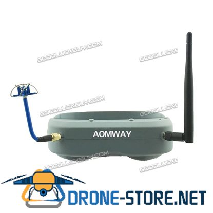 Aomway Commander Goggles 40CH 5.8G FPV Video Headset Glasses Support HDMI DVR Headtracker