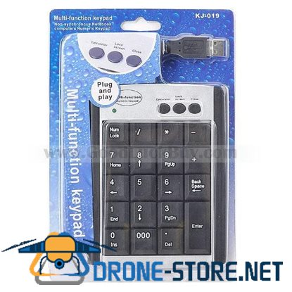 22-key USB Numberic Number Keyboard Keypad for PC Laptop