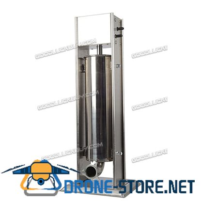 5L 2 In1 Stainless Steel Manual Churros Making Machine Sausage Stuffer for Home & Commercial Use