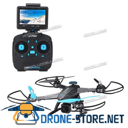 JJRC JJPRO X1G RC Quadcopter 2.4G 4CH 6-Axis 5.8G Brushless Motor RTF Drone Blue