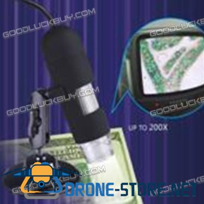 400X AV400 USB Digital Microscope for Measurement & Calibration with Simple Support