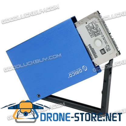 ORICO 2.5'' SATA HDD/SSD Dual Interface USB 3.0 HDD External Enclsoure-Blue